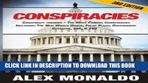 [BOOK] PDF Conspiracies: Conspiracy Theories - The Most Famous Conspiracies Including: The New