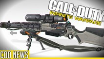 WEAPONS THAT FEATURE IN INFINITE WARFARE MULTIPLAYER?! (COD News) - By HonorTheCall