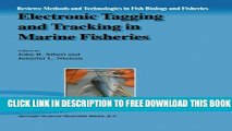 [PDF] Electronic Tagging and Tracking in Marine Fisheries: Proceedings of the Symposium on Tagging