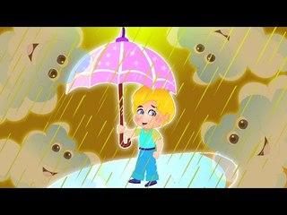 chuva da chuva | Canções de chuva Para as Crianças | Rain Rain Go Away | Nursery Rhyme