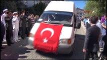 Fethiye Şehit Yüzbaşı Özekin Son Yolculuğuna Uğurlandı-3