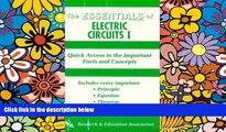 Big Deals  Essentials of Electric Circuits I (Essentials (Que Paperback)) (Vol 1)  Best Seller