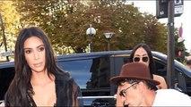 Kim Kardashian Vitalii Sediuk tries to Kiss Kim Kardashian's ASS