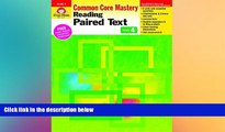 Big Deals  Reading Paired Text, Grade 4 (Reading Paired Text: Common Core Mastery)  Best Seller