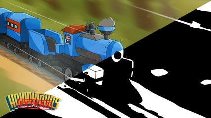 """The Making of """"Train is a Coming"""" Train Song by Howdytoons"""