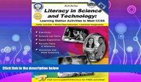 different   Literacy in Science and Technology, Grades 6 - 8: Learning Station Activities to Meet