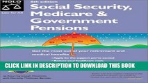 [PDF] Social Security, Medicare   Government Pensions: By Joseph L. Matthews With Dorothy Matthews