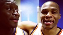 Russell Westbrook & James Harden Sing Their Hearts Out