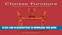 [PDF] Chinese Furniture: A Guide to Collecting Antiques Popular Online