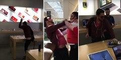 Il détruit les iPhone de l'Apple Store de Dijon avec une boule de pétanque
