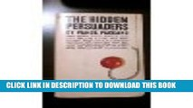 [PDF] Hidden Persuaders, 1969 Paperback Popular Collection