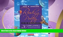 different   Reading Poetry in the Middle Grades: 20 Poems and Activities That Meet the Common