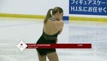 Alaine Chartrand 2016 Skate Canada Autumn Classic International - SP