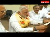 Narendra Modi takes oath and files nomination in Varanasi - Full Video