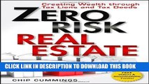 New Book Zero Risk Real Estate: Creating Wealth Through Tax Liens and Tax Deeds