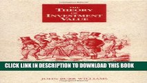 [PDF] The Theory of Investment Value Popular Colection