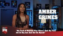 Amber Grimes - F*ck It Moment Was Quitting My Def Jam Job & Betting On Myself (247HH Exclusive) (247HH Exclusive)
