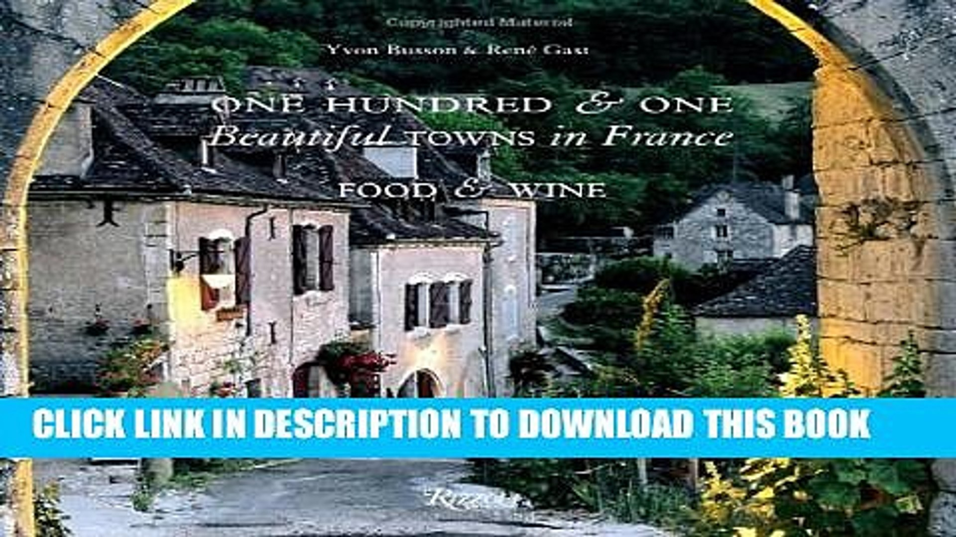 [PDF] One Hundred and One Beautiful Towns in France: Food   Wine (101 Beautiful Small Towns)