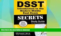 FAVORITE BOOK  DSST Introduction to the Modern Middle East Exam Secrets Study Guide: DSST Test
