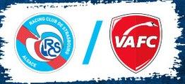 RC Strasbourg 2-4 Valenciennes FC - Le Résumé du Match HD (1.10.2016) - Dominos Ligu e2