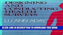 [PDF] Designing and Conducting Health Surveys: A Comprehensive Guide (Jossey-Bass Health Series