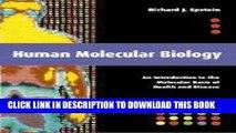 PDF] Human Molecular Biology: An Introduction to the Molecular Basis