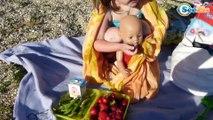 Доктор Ника лечит Куклу Беби Борн от аллергии. Ника делает укол. Видео для детей. Baby Born Doll