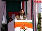 Rahul Gandhi addresses rally in Dehradun