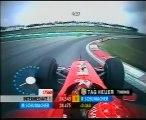 F1, GP Malesia 2001 - La pole position di Michael Schumacher