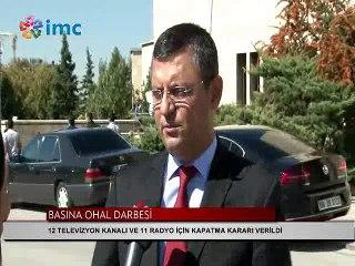 CHP'li Özel: Biz İMC TV'yi Soma'dan Cerattepe'den tanıyoruz