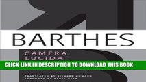 [PDF] Camera Lucida: Reflections on Photography Popular Collection