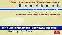 Pdf Set Lighting Technician S Handbook Film