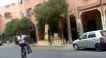 amine stunter : short Stoppie / endo [ stunt - marrakech - morroco ]