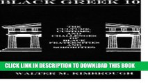 [PDF] Black Greek 101: The Culture, Customs, and Challenges of Black Fraternities and Sororities