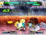 dragon ball ultimate showdown goku Gt and vegeta SSJ 3 vs goku and vegeta SSJ 5