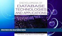 different   Encyclopedia Of Database Technologies And Applications