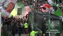 Ambiance de feu pour le derby