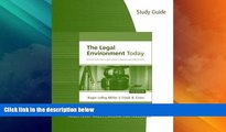 different   Study Guide for Miller/Cross  The Legal Environment Today: Business In Its Ethical,