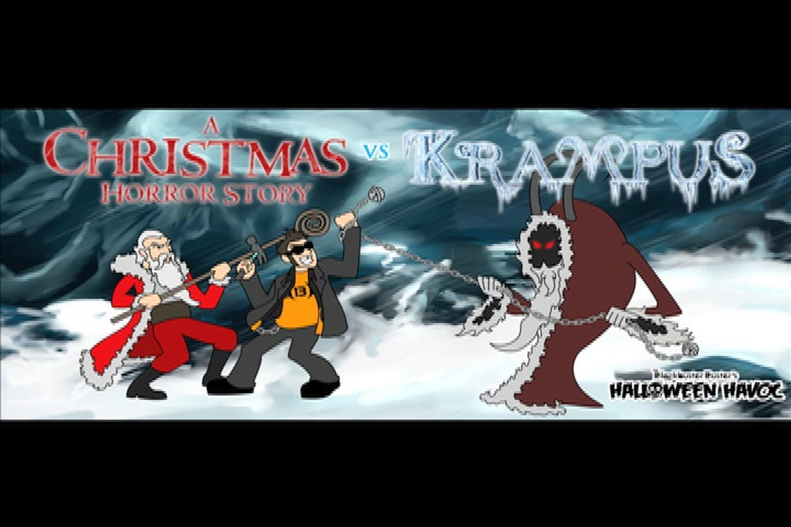 Christmas Horror Story.A Christmas Horror Story Vs Krampus By The Blockbuster Buster