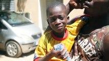 L'enfant enchaîné, retrouvé ce matin à Thiès se confie : « C'est mon père qui m'a…. »  Regardez