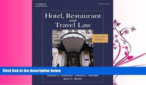 FAVORITE BOOK  Hotel, Restaurant, and Travel Law, 7th Edition