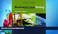 FAVORITE BOOK  Business Law Today, Standard Edition (Available Titles CengageNOW)