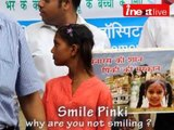 For 'Smile Pinki' it's a toss up