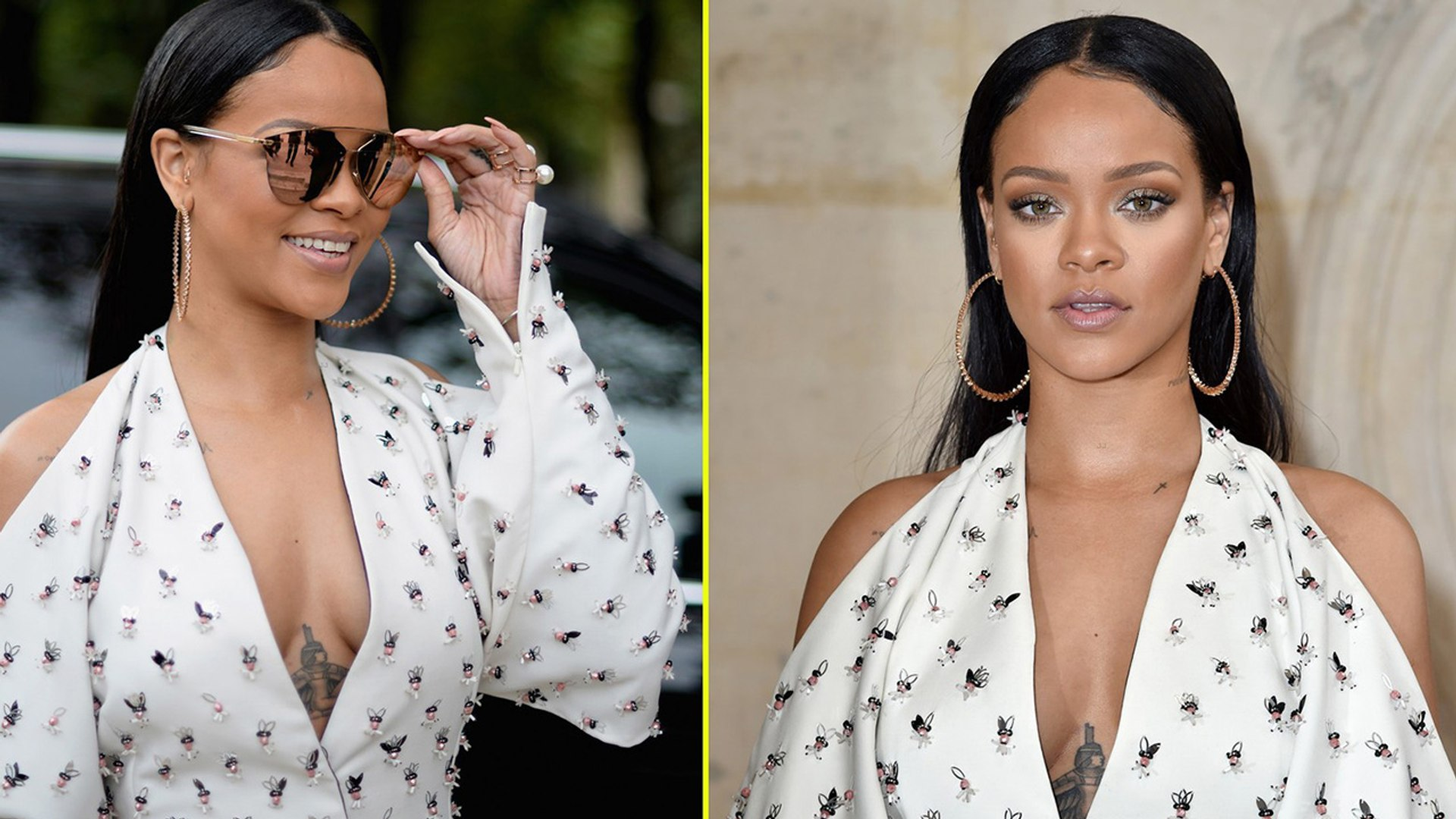 Rihanna Slays at Christian Dior Paris Fashion Show