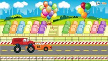 Kids Cartoons: The Tow Truck and his friends Cars & Trucks. Emergency Vehicles Cartoons
