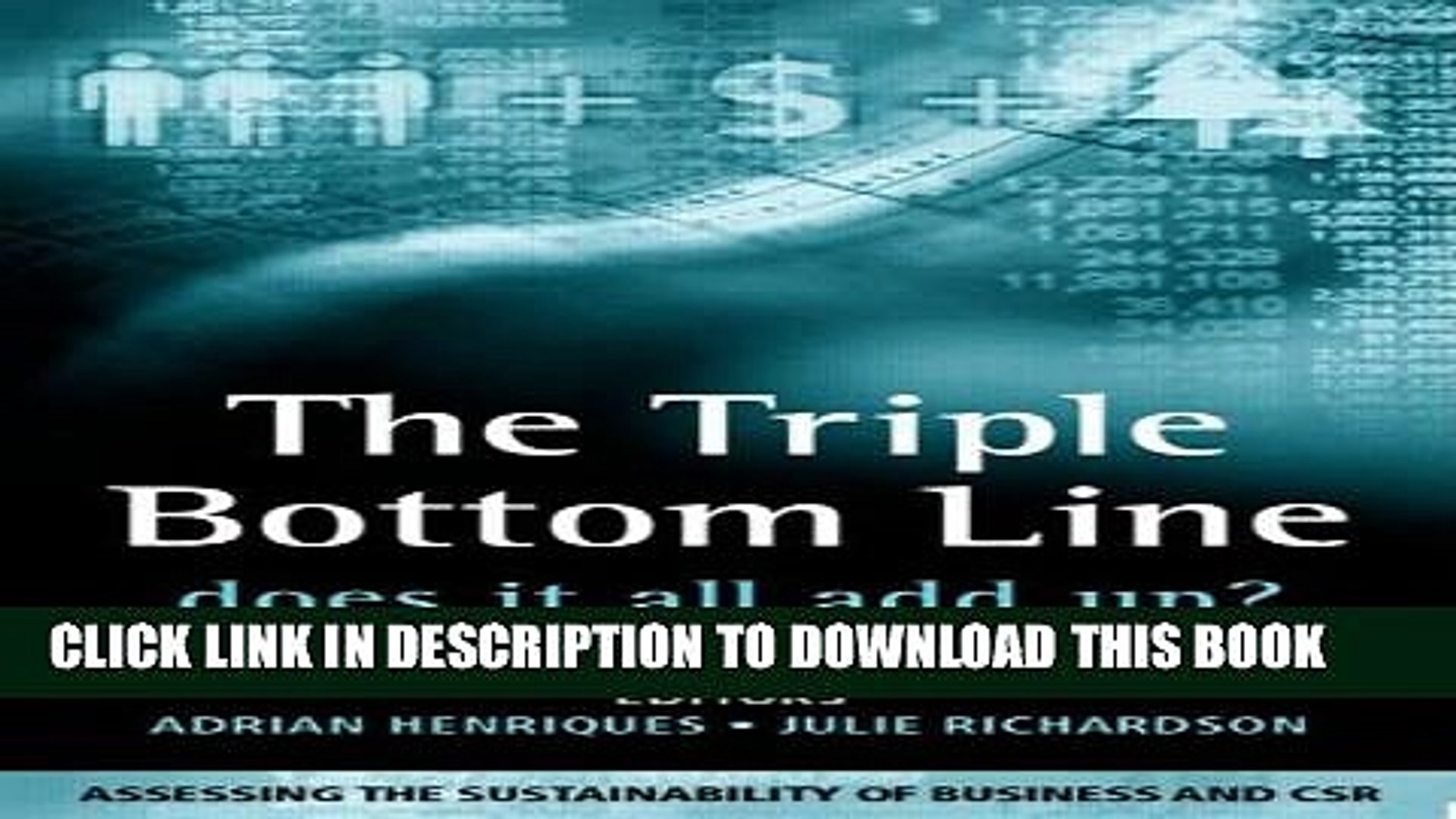 [PDF] The Triple Bottom Line: Does It All Add Up Full Online