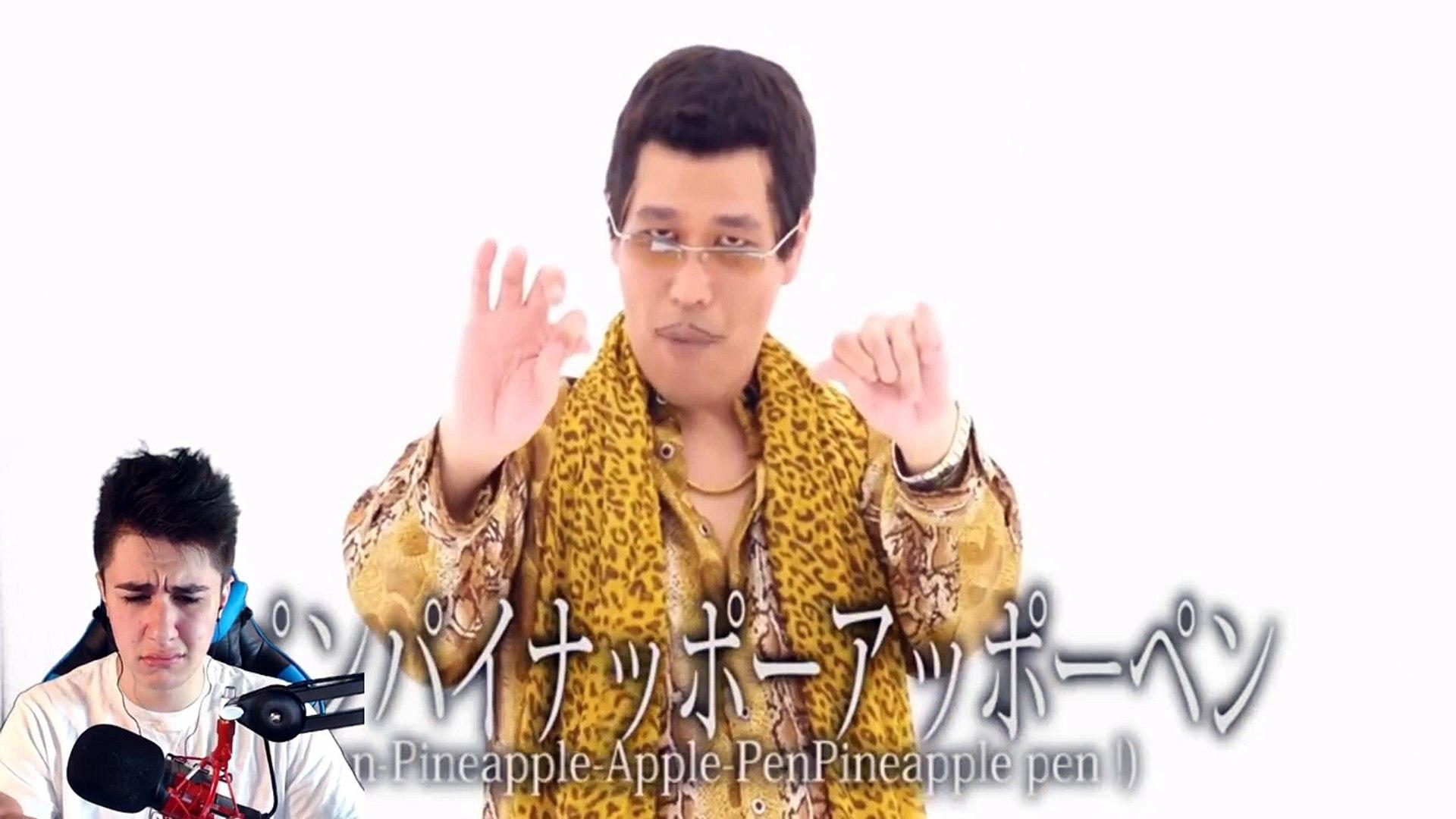 PPAP PEN PINEAPPLE APPLE PEN REACTION!!!