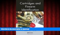 FAVORIT BOOK Cartridges and Firearm Identification (Advances in Materials Science and Engineering)