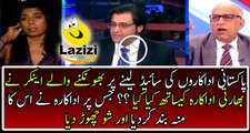 Indian Actress Badly Insulting Arnab Goswami and left his show