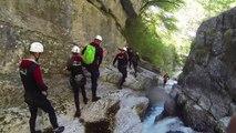 Canyoning Gardasee Torrente Tuffone - Canyoning am Gardasee in Italien mit Outdoorplanet